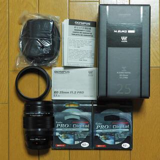 OLYMPUS - オリンパス レンズ 25mm F1.2 PRO & NDフィルター2枚セット