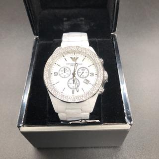 エンポリオアルマーニ(Emporio Armani)のエンポリオアルマーニ レディース 腕時計 セラミック セラミカ AR1456(腕時計)
