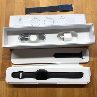 アップルウォッチ(Apple Watch)のApple watch sport 42mm 初代 A1554 MJ3T2/A(腕時計(デジタル))