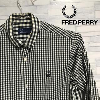 フレッドペリー(FRED PERRY)のfred perry ギンガムチェック シャツ フレッドペリー(シャツ)