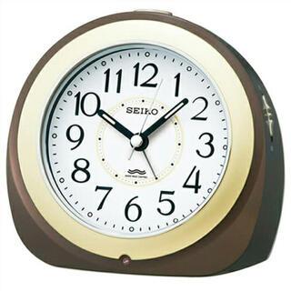 セイコー(SEIKO)のSEIKO 電波目覚まし時計 KR331B【新品未開封品】(置時計)