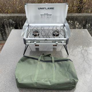 ユニフレーム(UNIFLAME)のUNIFLAME //ユニフレーム ツインバーナー US1900(調理器具)