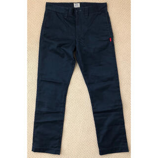ダブルタップス(W)taps)のWtaps Khaki Tight Trousers Navy S(チノパン)