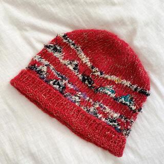 ビームス(BEAMS)のざっくりニット帽(ニット帽/ビーニー)