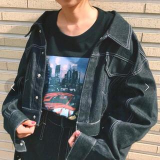 ジーヴィジーヴィ(G.V.G.V.)のGVGV プリントロンT ブラック(Tシャツ(長袖/七分))