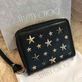 JIMMY CHOO - ☆未使用品☆ジミーチュウ コンパクト財布 スタースタッズ REGINA