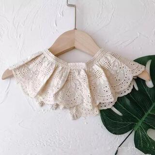 petit main - レーススタイ⭐︎つけ襟⭐︎きなり⭐︎韓国子供服⭐︎新品