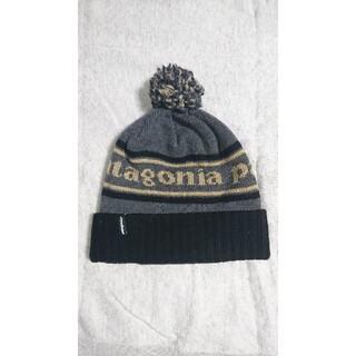 パタゴニア(patagonia)のpatagonia パタゴニア パウダータウンビーニー ボンボン ニットキャップ(ニット帽/ビーニー)