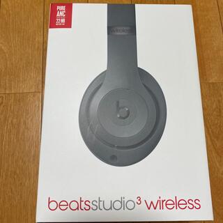 ビーツバイドクタードレ(Beats by Dr Dre)のbeats studio3 wireless グレー(ヘッドフォン/イヤフォン)