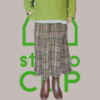 スタディオクリップ(STUDIO CLIP)の★studio CLIP★スタディオクリップ ロングスカート プリーツスカート(ロングスカート)