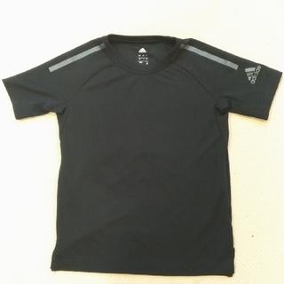 adidas - 【美品!】adidas アディダス 130センチ 黒色Tシャツ