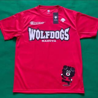 デサント(DESCENTE)のWOLFDOGS NAGOYA 応援Tシャツ XOサイズ おまけ付き(バレーボール)