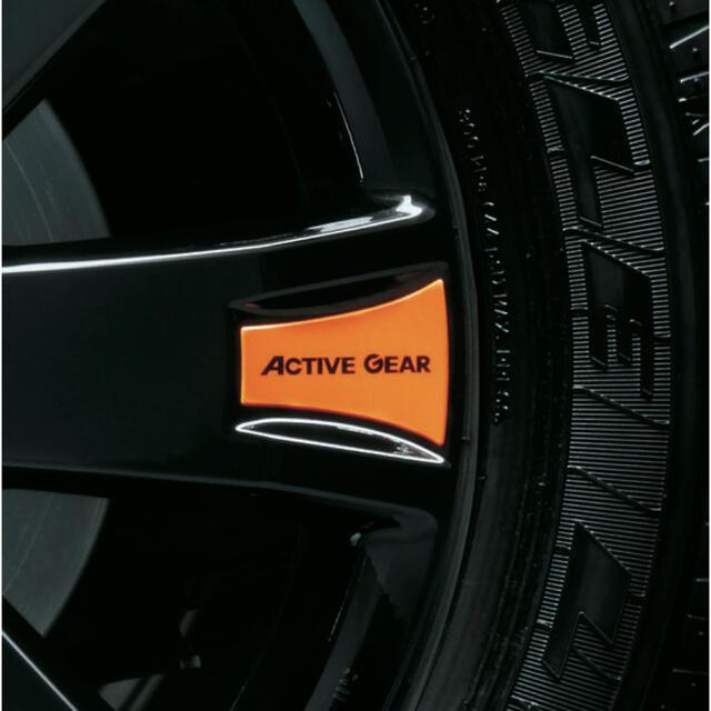 三菱(ミツビシ)のデリカD5 アクティブギア 純正 ホイールデカールセット 自動車/バイクの自動車(車外アクセサリ)の商品写真