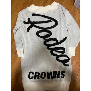 ロデオクラウンズ(RODEO CROWNS)のRODEO CROWNS ニットワンピース(ニット/セーター)