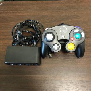 ニンテンドースイッチ(Nintendo Switch)のスマブラ ゲームキューブコントローラー アダプター(家庭用ゲーム機本体)