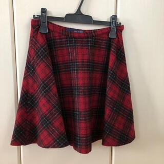IENA SLOBE - イエナ チェック タータン 赤 スカート