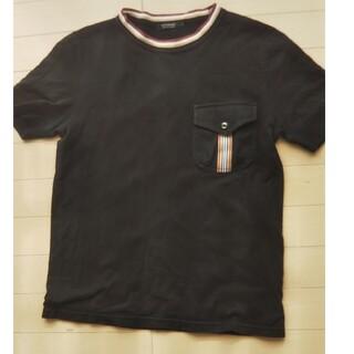 バーバリーブラックレーベル(BURBERRY BLACK LABEL)のBURBERRY BLACK LABEL メンズTシャツ M(Tシャツ/カットソー(半袖/袖なし))
