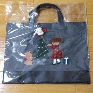 familiar - ファミリア  クリスマスデニムバッグ♡
