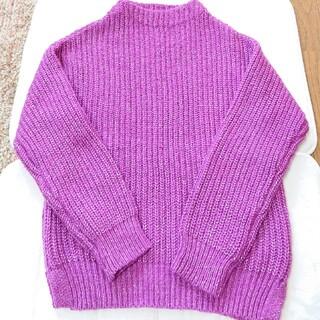 ベルメゾン(ベルメゾン)のNauw closet おしゃれ色 パープルピンク セーター(ニット/セーター)