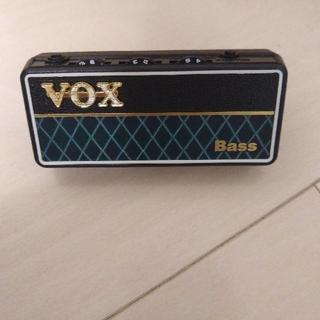 ヴォックス(VOX)のvox amplug2 bass ベース ヘッドフォンアンプ(ベースアンプ)