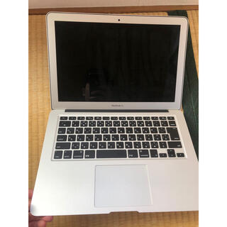 マック(Mac (Apple))のMacBook Air 13 インチ Early 2015 i5 SSD256(ノートPC)