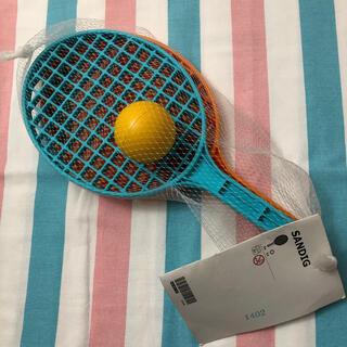 イケア(IKEA)のIKEA SANDIG ラケット&ボール(ラケット)