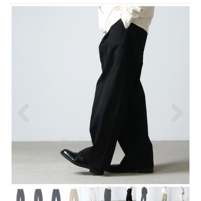 COMOLI(コモリ)の【新品未使用タグ付】STUDIO NICHOLSON スタジオニコルソン20AW メンズのパンツ(チノパン)の商品写真