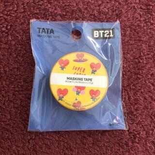 ボウダンショウネンダン(防弾少年団(BTS))のTATA マスキングテープ(テープ/マスキングテープ)