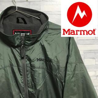 マーモット(MARMOT)のmarmot マーモット ナイロンジャケット 文字ロゴ アースカラー(ナイロンジャケット)