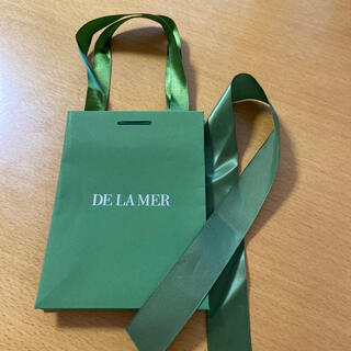 ドゥラメール(DE LA MER)のドゥラメール  de la mer 紙袋 手提げ プレゼント(ショップ袋)