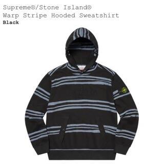 シュプリーム(Supreme)のSupreme®/Stone Island® Warp StripeHooded(パーカー)