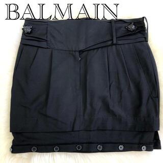 バルマン(BALMAIN)のミニスカート(ミニスカート)