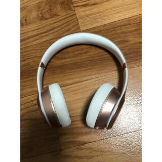 ビーツバイドクタードレ(Beats by Dr Dre)のbeats solo wirelessヘッドホン 本体のみ(ヘッドフォン/イヤフォン)