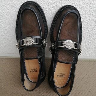 トーガ(TOGA)のトーガチュールローファー38メッシュ(ローファー/革靴)
