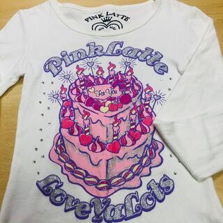 ピンクラテ(PINK-latte)のピンクラテ♡長袖Tシャツ(Tシャツ/カットソー)