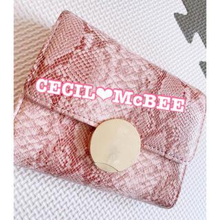 セシルマクビー(CECIL McBEE)の折り畳み財布(財布)
