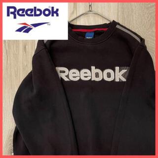 リーボック(Reebok)のReebokリーボック ビッグロゴ サイドライン スウェット(スウェット)