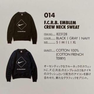 エフシーアールビー(F.C.R.B.)のF.C.R.B. EMBLEM CREW NECK SWEAT BLACK L(スウェット)