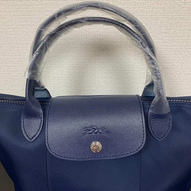 LONGCHAMP(ロンシャン)のロンシャン ル プリアージュ ネオ ハンドバッグ 2way ネイビー レディースのバッグ(ハンドバッグ)の商品写真