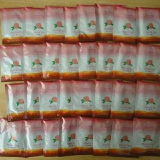 ピーチティー 紅茶ティーバッグ 32個セット ティーパック ホワイトノーブル(茶)