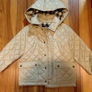 BURBERRY - 子供 バーバリー中綿キルティングコート
