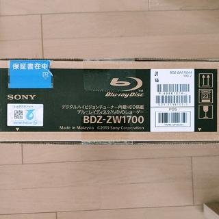 SONY - Sony BDZ-ZW1700 ブルーレイディスク DVDレコーダー