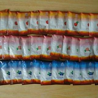 紅茶ティーバッグ 32個セット ティーパック ピーチ/アップル/ブルーベリー(茶)