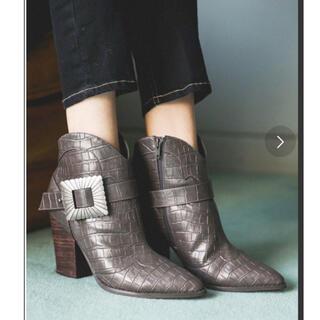 アリシアスタン(ALEXIA STAM)のALEXIA STAM Original Buckle Short Boots(ブーツ)