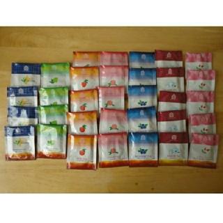 紅茶ティーバッグ 7種類 33個セット ティーパック ホワイトノーブル(茶)