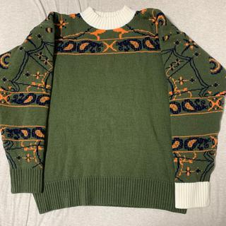 サカイ(sacai)のsacai×dr.woo Bandana Knit Pullover サイズ2(ニット/セーター)