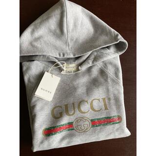 Gucci - GUCCI ロゴ スウェットパーカー 10