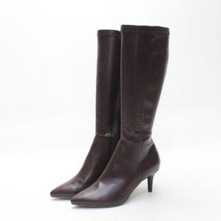 ランダ(RANDA)の新品♪RANDA ストレスフリーレインロングブーツ(M)ランダ(ブーツ)