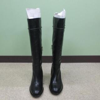 コーチ(COACH)のCOACH コーチ ブーツ 黒 ブラック 秋冬★未使用品(ブーツ)