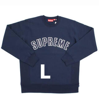 Supreme - supreme 15aw arc logo crewneck ネイビー L